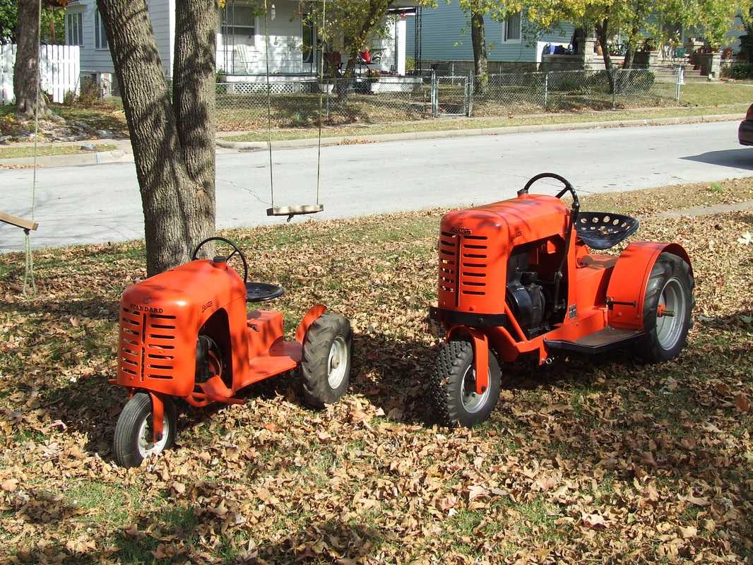 Our garden tractors rare garden tractors for Garden implements for sale